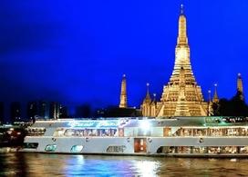 【夜遊湄南河 X 自助晚餐】| 曼谷自由行套票3-31天