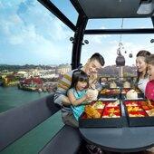 【新加坡高空纜車晚宴】 │新加坡自由行套票3-31天