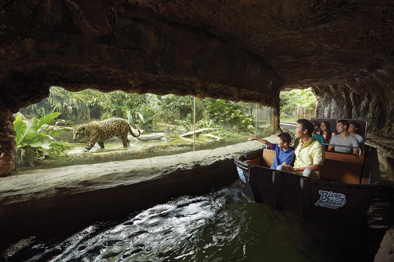 【河川生態園 Singapore River Safari 1日門票】少有!淡水河川生態主題動物園!│含遊船&亞馬遜河探索│新加坡自由行套票3-31天