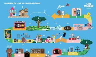 【全球首個Line主題樂園 Line Village】直闖熊大睡房|曼谷自由行套票3-31天