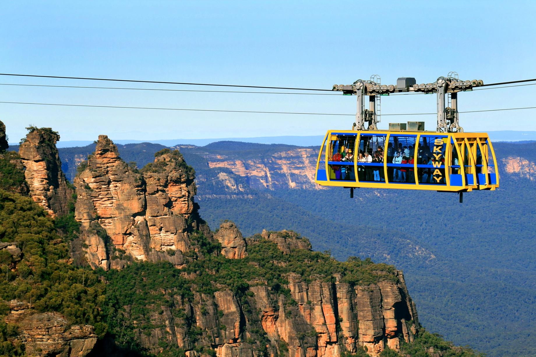 【SCENIC WORLD】任搭Blue Mountains纜車 | 國泰航空悉尼自由行套票4-31天