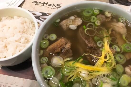 Samwon Garden牛肋骨湯飯
