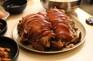 滿足五香豬手+餃子湯