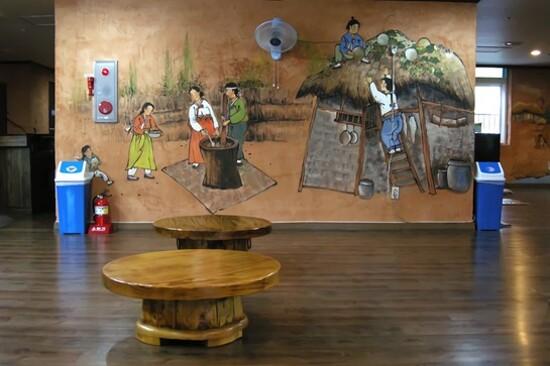 首爾森林韓方樂園傳統汗蒸幕