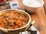 【新村食堂】炭燒烤肉+7分鐘泡菜鍋