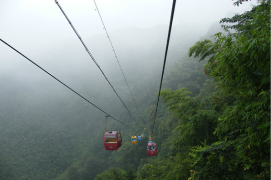 蜀南竹海觀光纜車