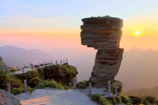 梵淨山景區-蘑菇石