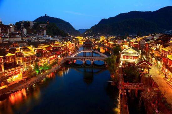 鳳凰古城夜景