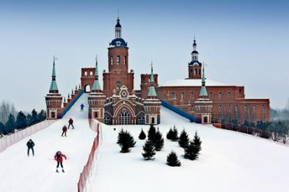 伏爾加莊園-城堡滑雪