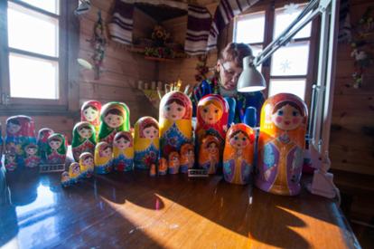 阿廖娜農舍~俄羅斯套娃手工坊