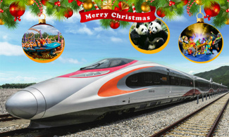 【又到聖誕】西九高鐵│包樂園門票+長隆主題酒店│番禺自由行套票2-7天