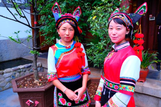 白族傳統民族服飾