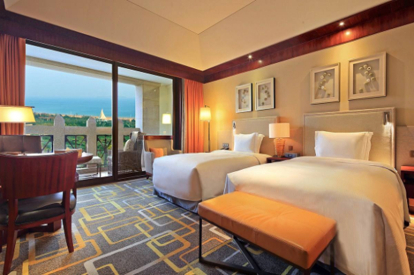 金沙灘希爾頓酒店客房