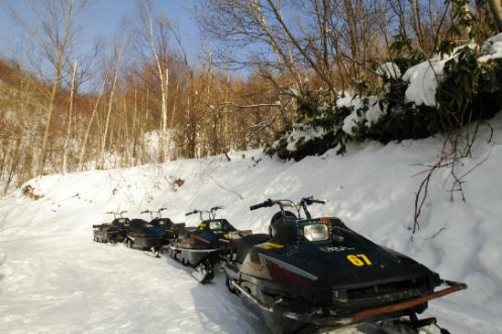 野外攀山雪車