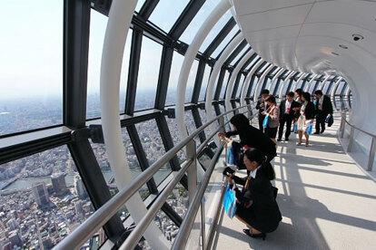 晴空塔天望回廊2