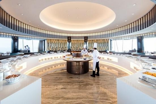 Sun Cruise Hotel & Condo-旋轉觀景餐廳