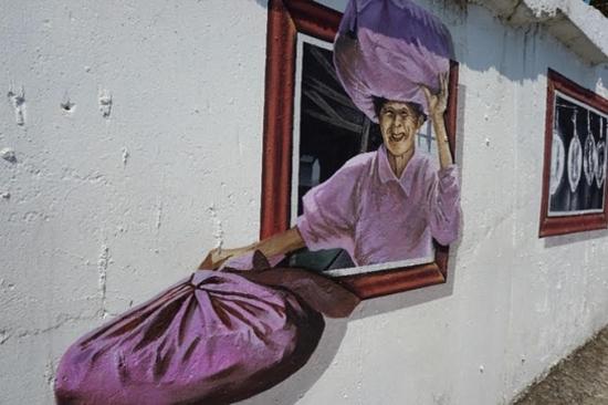 燈塔壁畫村