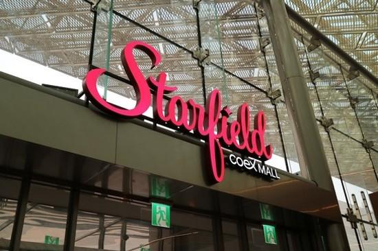 COEX Starfield Shopping Mall~星空圖書館