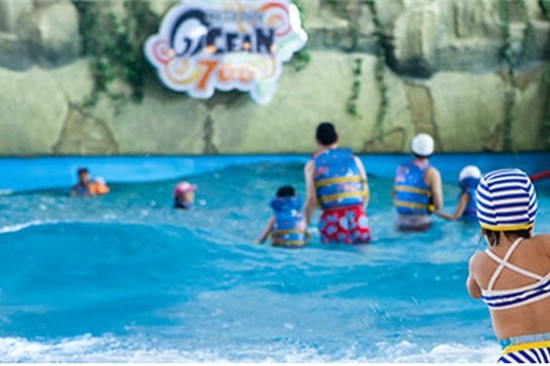 Ocean 700溫泉水上樂園