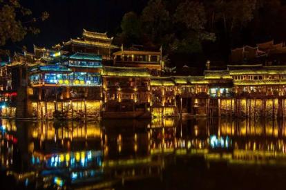 夜遊鳳凰古城