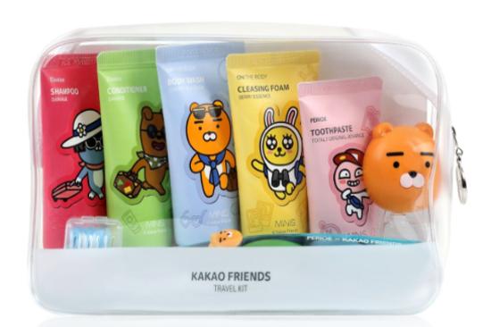 Kakao Friends個人護理旅行裝(數量有限,送完即止)