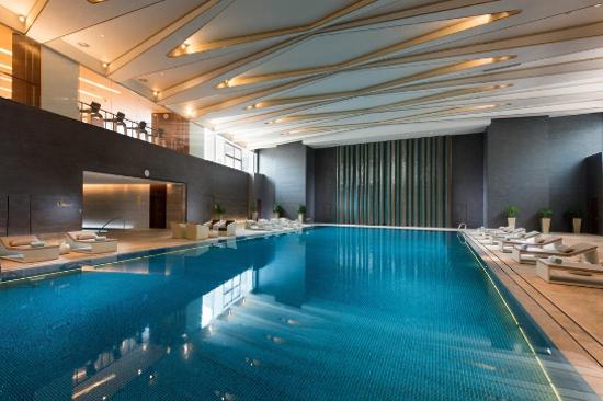北京日出東方凱賓斯基酒店游泳池