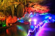 華中洞天、神秘的地下明珠宮殿~隱水洞