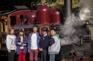「乘坐古董蒸氣火車」丹頓農山脈