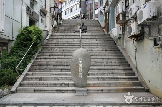 40階梯文化觀光主題街