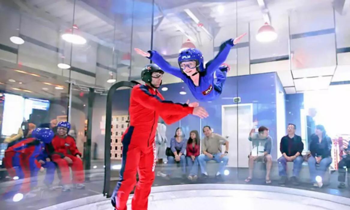 【iFly風洞跳傘體驗】空中飛行夢成真  意想不到咁好玩!│新加坡自由行套票3-31天