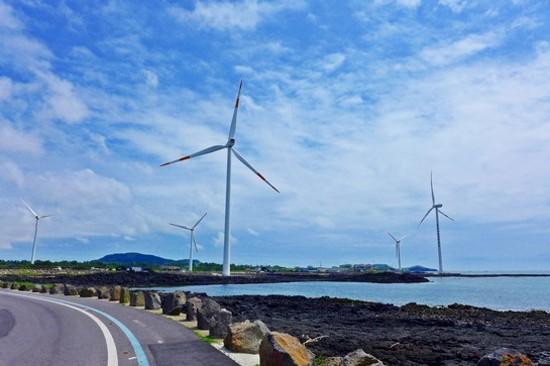 新昌風車海岸道路