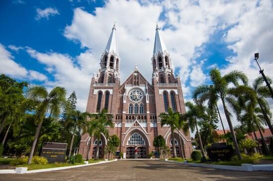 St mary cathedral yangon_緬甸_仰光_聖瑪利亞天主教堂1