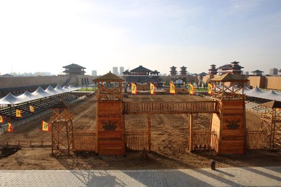 襄陽唐城影視基地