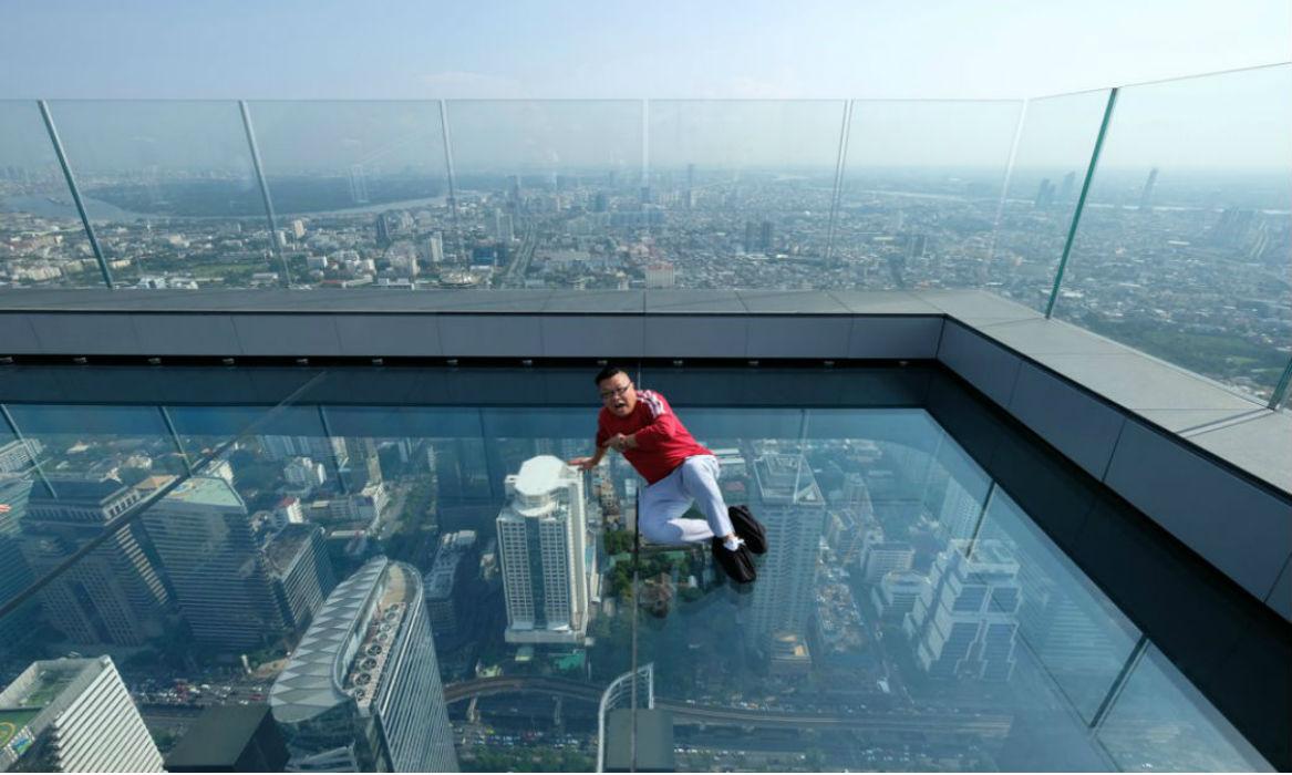 【曼谷Mahanakhon SkyWalk觀景台】全泰國最高觀景台全新開幕!坐擁壯觀360度極致全景 | 曼谷自由行套票3-31天