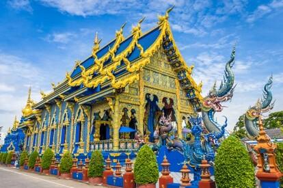 清萊 藍廟