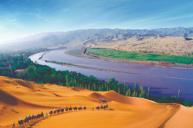 暢遊中國四大響沙之一~沙坡頭風景區