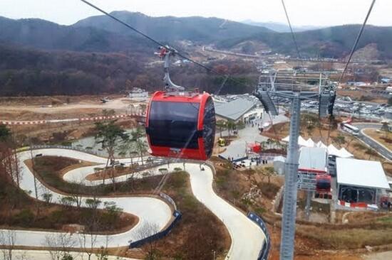 江華島LUGE斜坡滑車體驗(纜車)