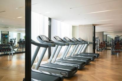 太陽獅萬麗酒店健身室