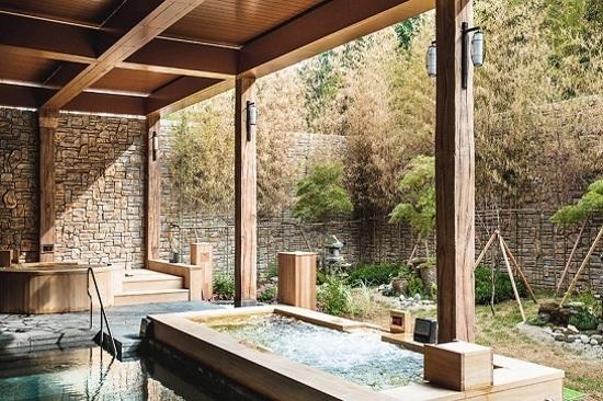 青松大明度假村正宗傳統溫泉