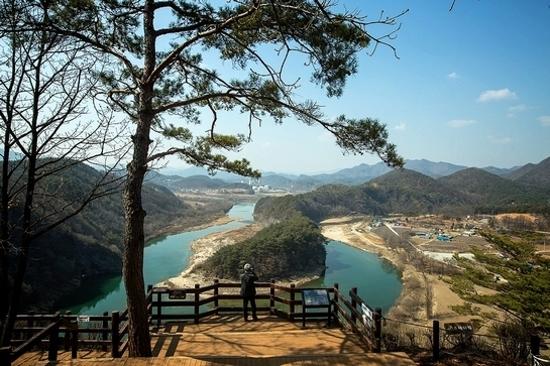 韓半島地形~仙岩村