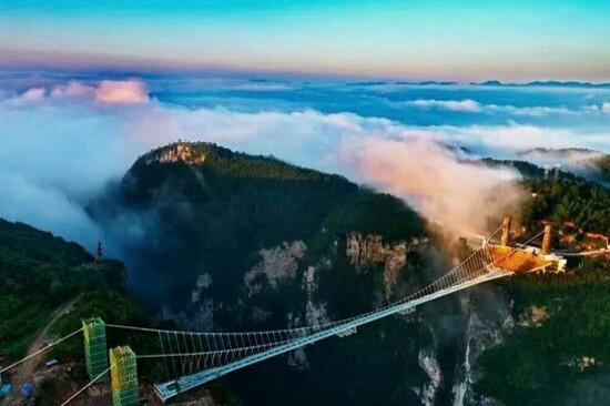 張家界大峽谷玻璃橋