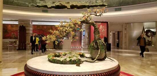 汕頭國際酒店大堂許願樹