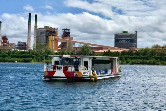 浦項運河遊覽船