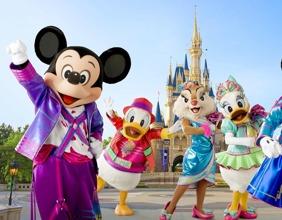 【東京迪士尼樂園】東京自由行套票3-31天