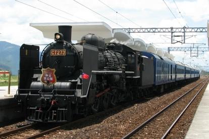 仲夏寶島號蒸汽火車