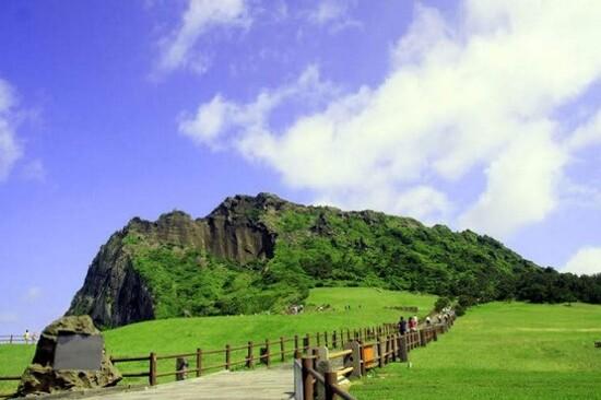 「UNESCO世界自然遺產」城山日出峰