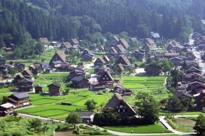 日本 白川鄉