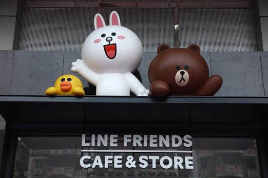 LINE FRIENDS 主題店