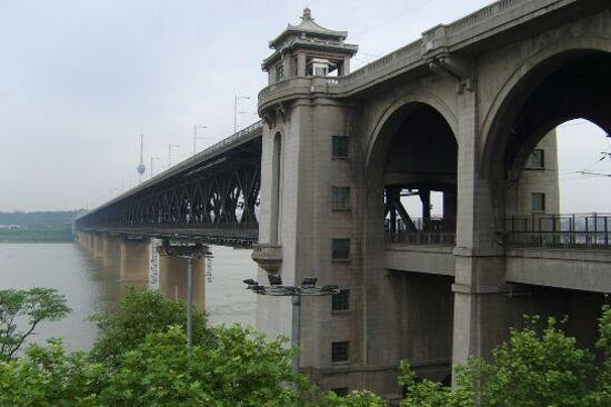 武漢長江大橋(車遊)