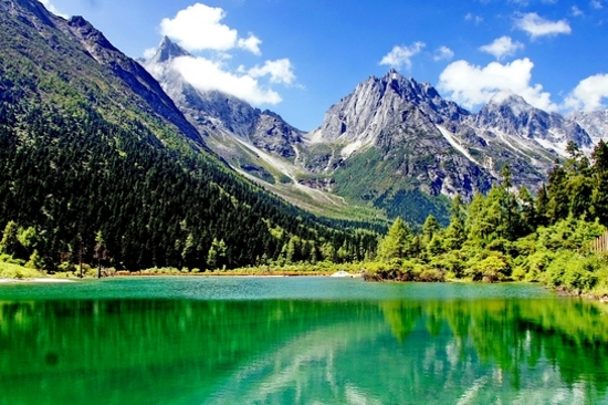 畢棚溝~磐羊湖